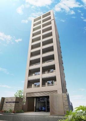 地上11階建てです。