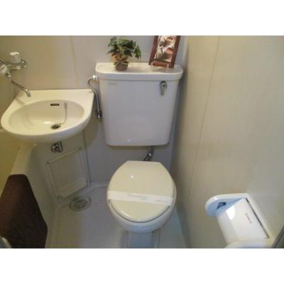 グレイス稲毛のトイレ