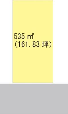 【区画図】【売地】野上中学校区・29696