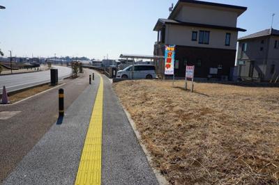 【前面道路含む現地写真】富士見ヶ丘4丁目25番