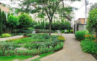 「ライオンズガーデン池田山」 ねむの木の庭(公園)