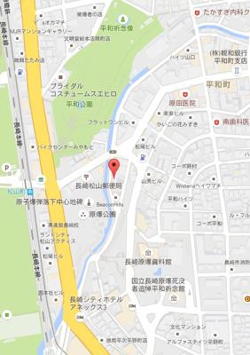 【地図】コーポヘイワ