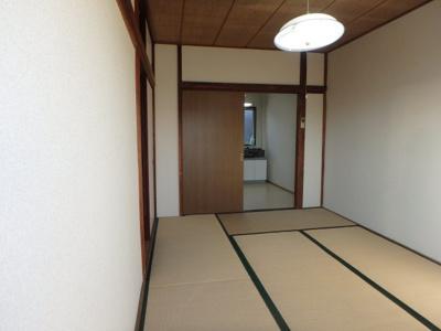 【寝室】コーポタイヨー
