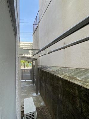 【バルコニー】片山アパート