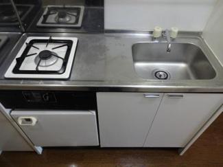 倉澤ビル キッチンはガスコンロ1口(調理スペースあります)