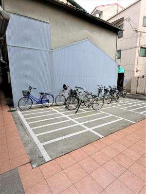 整理整頓が行き届いた駐輪場です♪