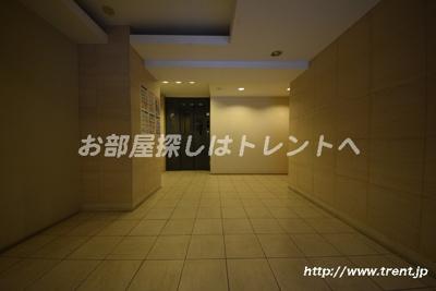 【ロビー】シエル白山A館