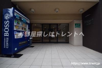 【エントランス】シエル白山A館