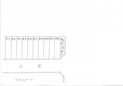 【区画図】久々知2丁目121.122ガレージ 管理番号29