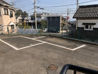 【駐車場】ハイムフルーレ