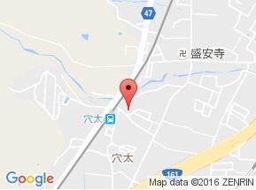 【地図】ハイムフルーレ