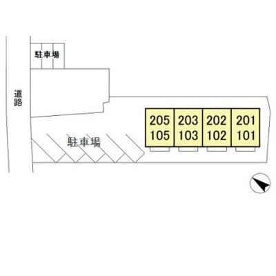 【区画図】メゾンサンク