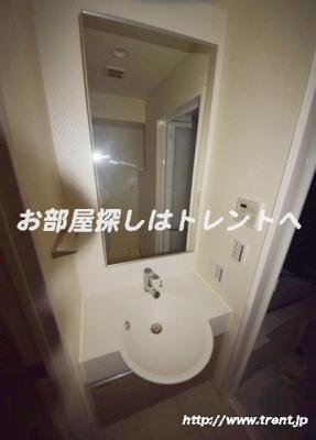 【独立洗面台】プレールドゥーク秋葉原Ⅲ