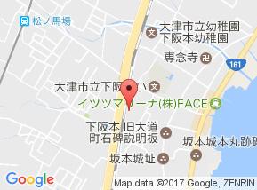 【地図】下阪本③ N邸貸家
