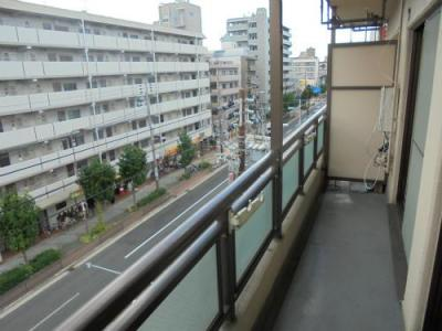 【バルコニー】ソレイユ東田辺