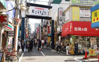「朝日武蔵小山マンション 」 戸越銀座商店街