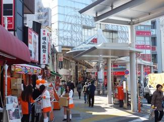 「マイキャッスル武蔵小山」 武蔵小山駅前商店街