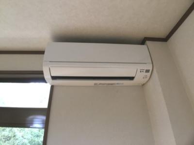 エアコン1台付♪夏場は涼しい立地ですが、丹波の冬は寒いのでエアコン必須です!