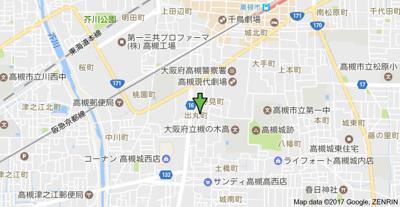 【地図】シンフォニックガーデンB棟 (株)Roots