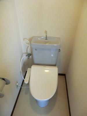 【トイレ】コーポティアラ