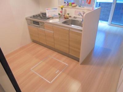 【キッチン】メゾン・ラフィーネ