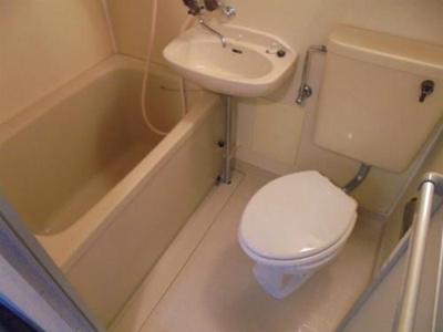 【浴室】ビーバーハイツ駒川