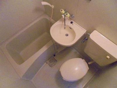 【浴室】ビーバーハイツ針中野