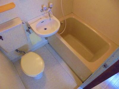 【浴室】駒川マンション