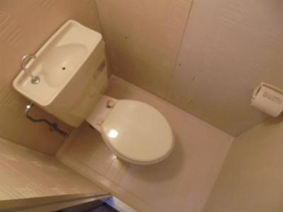 【トイレ】パークサイドマンションサオモト