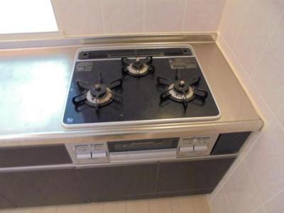 3口ガスコンロ システムキッチン