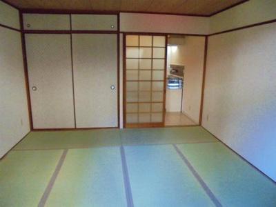 【寝室】コーポ中野