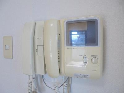 テレビ付きモニターフォン