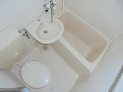 【浴室】ヴェルドール南田辺