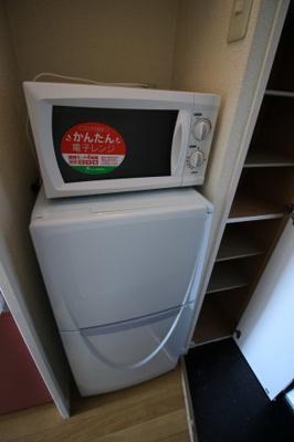 電子レンジ・冷蔵庫