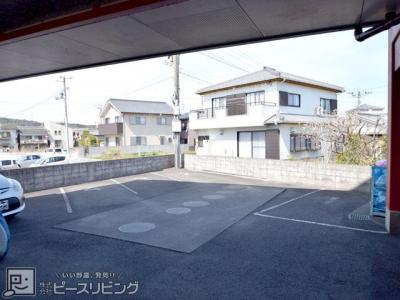 【駐車場】C.H稲田マンション羽ノ浦