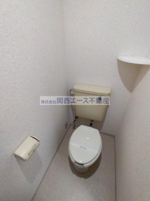 【トイレ】ハイツ菱屋