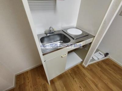 【キッチン】ハイツ菱屋