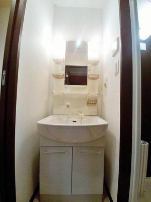 センチュリーヒルズの独立洗面台