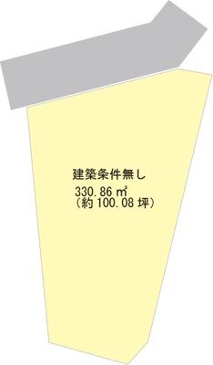 【区画図】【売地】紀見中学校区・29671