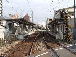 世田谷区若林5丁目 リノベーションマンション パークハイム若林105 最寄りの世田谷線「若林」駅です。