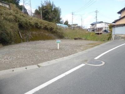 【外観】津山市小田中 売土地174坪