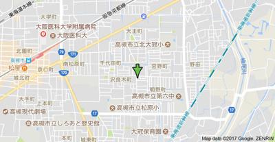 【地図】フクイハイツ (株)Roots