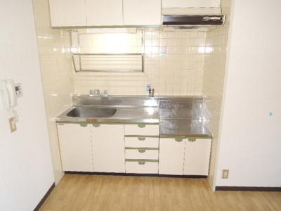 【キッチン】セントラルマンション平野