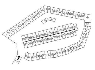 【区画図】竹見台鳥牧第1駐車場