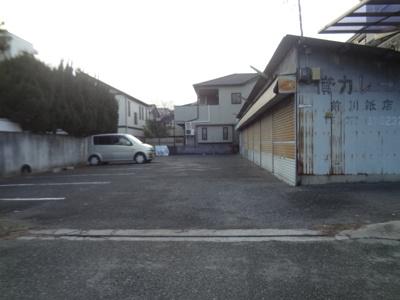 【外観】城南前川紙店駐車場
