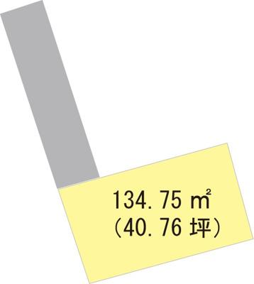 【区画図】【売地】日進中学校区・25382