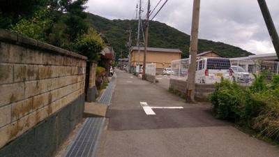 【前面道路含む現地写真】【売地】加太中学校区・55321