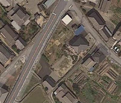 【前面道路含む現地写真】大津市南小松195-4 売土地