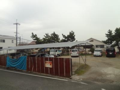 【外観】半町駐車場