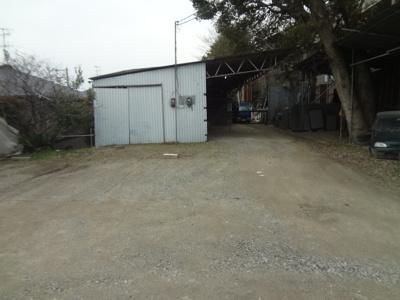 【居間・リビング】半町駐車場